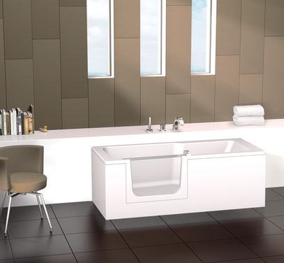 douche baignoire un acces confortable duett. Black Bedroom Furniture Sets. Home Design Ideas