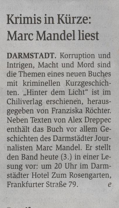 Darmstädter Echo Kulturszene 3. Juni 2014