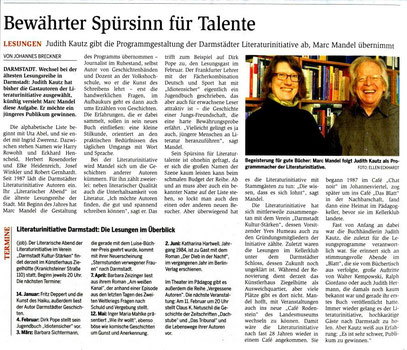 Darmstädter Echo Kulturszene Seite 20 5. Januar 2016
