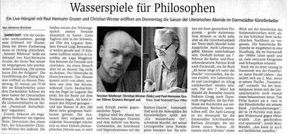 Johannes Breckner im Darmstädter Echo 8.1.2019
