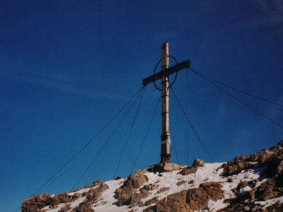 Schesaplana Gipfelkreuz