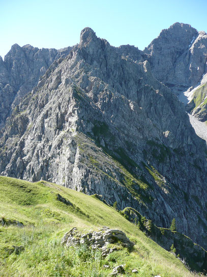 Kleiner Widderstein mit Aufstiegsgrat
