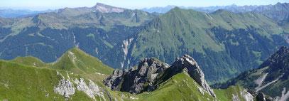 Üntschenspitze mit Üntschengrat