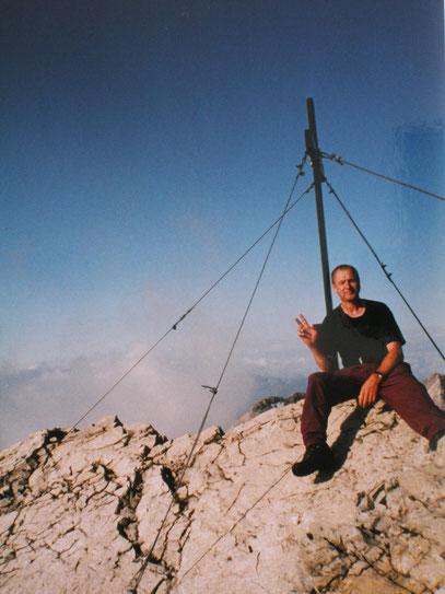 Ich am Gipfel der Urbeleskarspitze