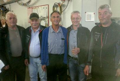 Okt. 2016: Wir gratulierten Maier Franz, einem langjährig sehr aktiven Mitglied, herzlich zum 60er ...
