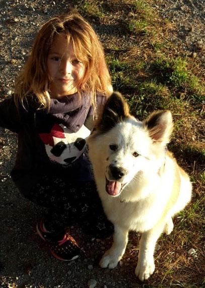 kleine Kinder Hunderasse