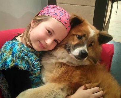 Elo Glatthaar Shawnee von Werths Echte Kinderhund