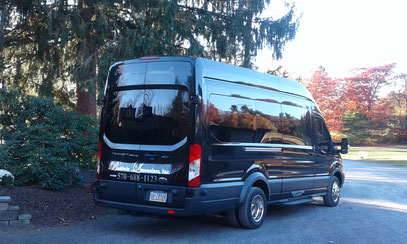Perfect for a Wine Tour, Wedding Shuttle or Bachelor/Bachelorette party