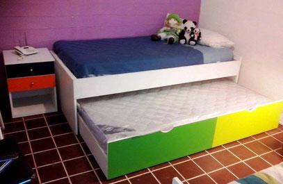 Muebles infantiles juveniles mr muebles modulares para for Sofa cama nido 1 plaza