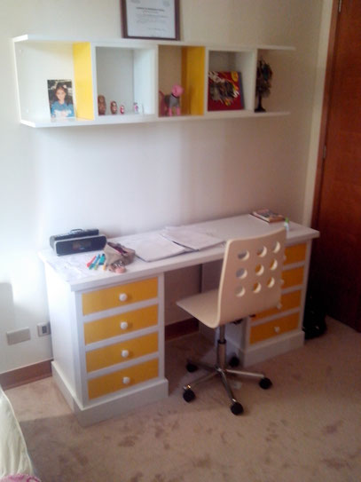 Muebles infantiles juveniles mr muebles modulares para for Escritorios dobles juveniles