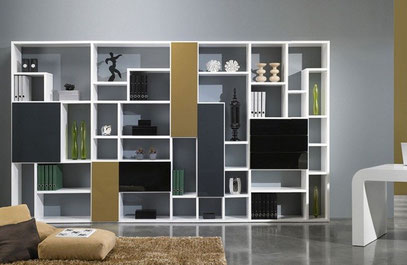 Muebles modulares mr muebles modulares para locales for Muebles living modernos