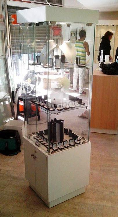 vitrina para exhibicion de joyas y productos