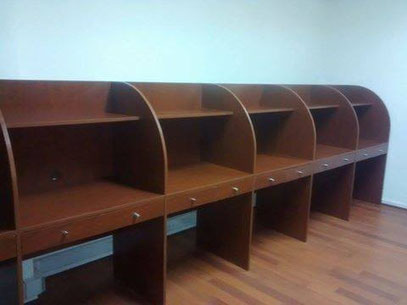 Muebles call center ciber mr muebles modulares para for Muebles santiago