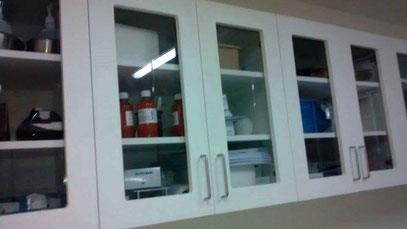 MUEBLES LABORATORIO BLANCO - 2