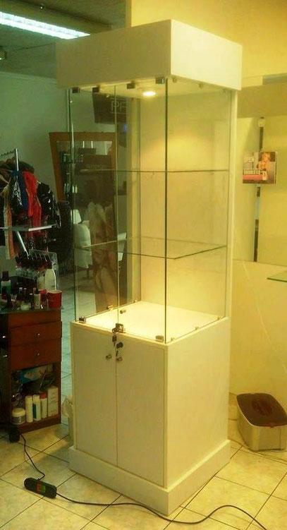vitrina para exhibicion de productos