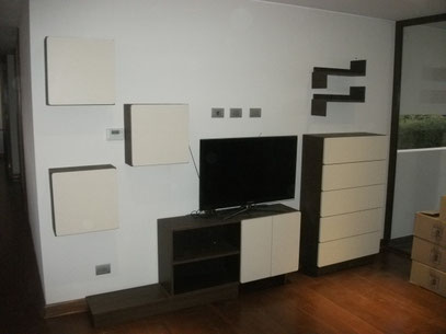 MODULAR RACK TV - CUBOS