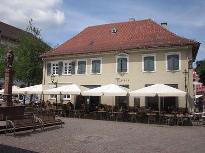 "Projekt ""Geschäftshaus Ettlingen - Café  / Markthalle / Praxisräume"""