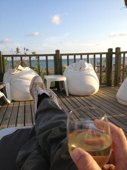 Sonne - Meer und ein gutes Glas Wein....