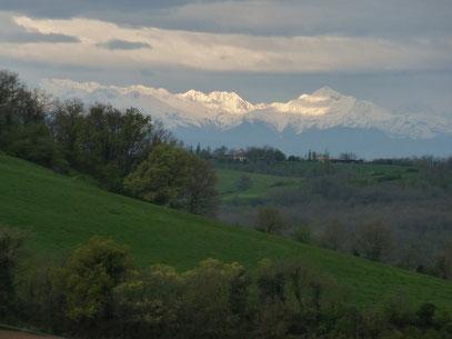 Les Pyrénées au petit matin