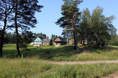 Вид на Непоротовскую часть Кицково. До 1920-х годов здесь находилось Непоротовское волостное правление.
