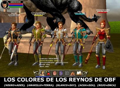 colores de los reynos