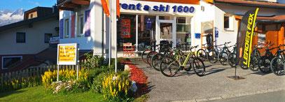 Rent a Ski 1600 im Sommer