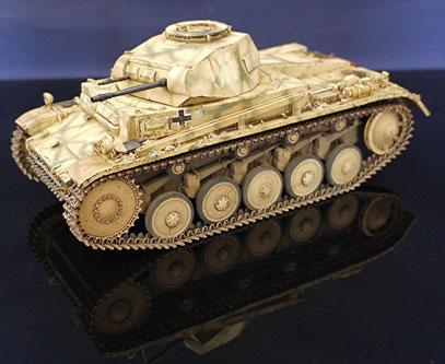 Panzer II Ausf.F tasca 1/24