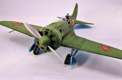 Policarpov I-16  ICM 1/32