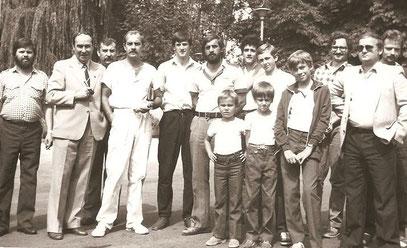 Na terenie browaru bielskiego-1984 r. (foto. z kolekcji Macieja Kobylińskiego,Tychy)