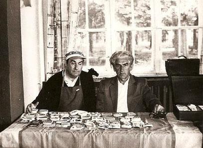 Antoni Jan Kanik i Eugeniusz Kidula (foto.z kolekcji Macieja Kobylińskiego,Tychy)