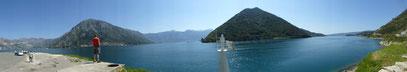 Montenegro Ankunft