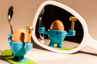 Na, wer bin ich? Logo, ein Spiegelei!