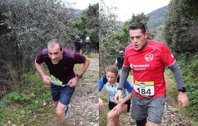 Les gorbarins Thierry et le doc Rodolphe étaient dans la course.