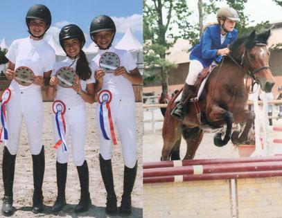 Les cavaliers du Team les Marquises ont encore brillé à l'open de France.