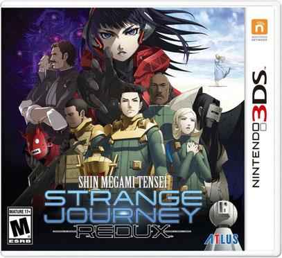 Strange Journey cover americana