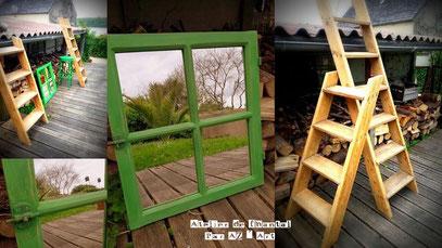 Fenêtre miroir vendue Grande échelle 130 € ou 117 Bzk/ Petite échelle  70 € ou 63 Bzk