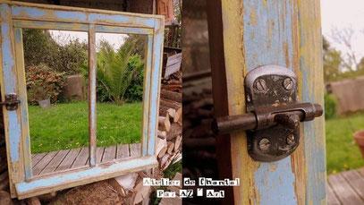 Miroir Fenêtre 50 € ou 45 Bzk