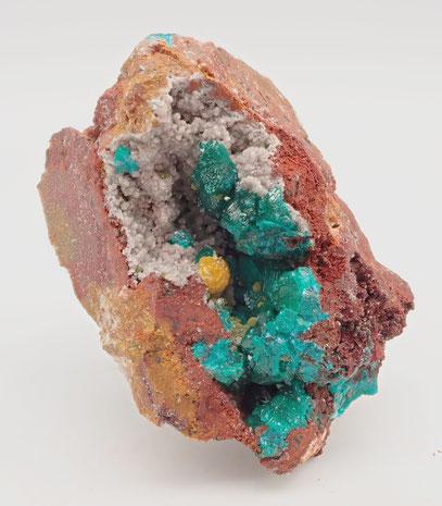 Congo dioptase