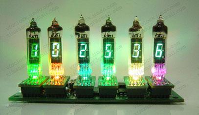 6-Tube YS9-4 clock