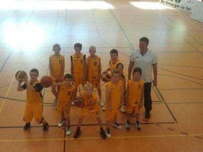 Das Team der U12-2 der Saison 2013/14