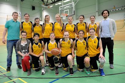 Das Team der U17 der Saison 2013/14