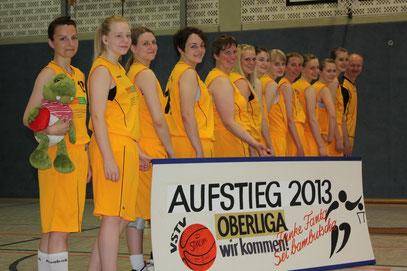 Aufstiegsteam 2012/13 der 2.Damen