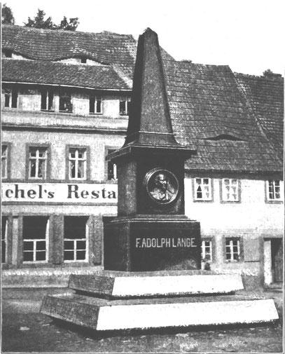 Das Lange Denkmal 1895
