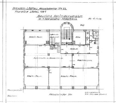 [3] Bauzeichnung von 1942