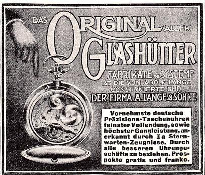 """Werbeanzeige in """"Die Woche"""" vom 20.Juli 1912"""