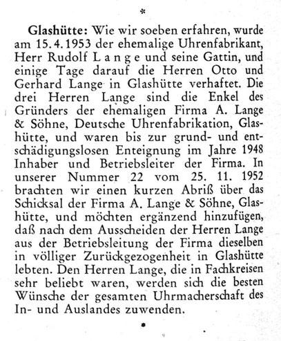 Quelle: Die Uhr Nr. 10 vom 25. 05.1953 S.28