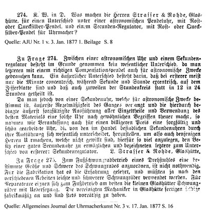 1877 Sekunden-Regulator