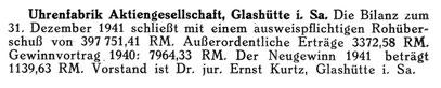 Quelle: Deutsche Uhrmacher-Zeitung Nr.49/50 vom 05. Dez. 1941 S.240.