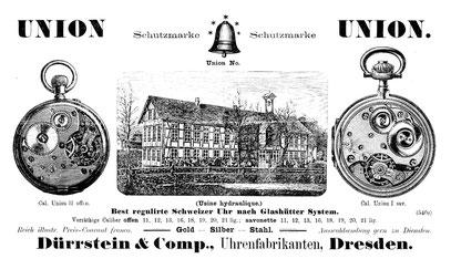 Dürrstein Werbung AJU Nr.2 v.15.Febr. 1895 S. 44