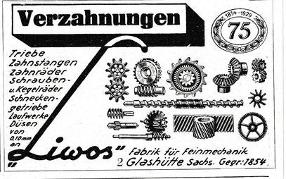 Werbeanzeige 1930
